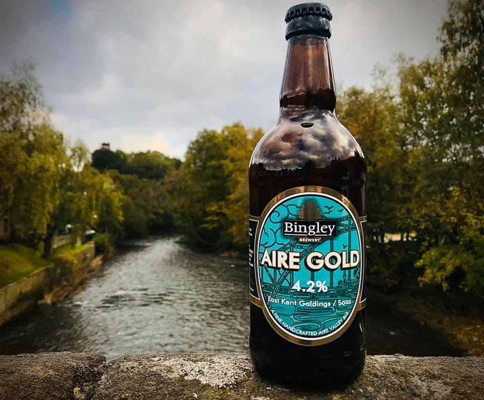 Bingley Brewery Aire Gold 500ml Bottle